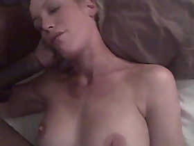 Husband Films Blonde Wife with BBC