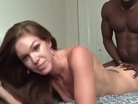 Hotwife getting worked by her first BBC