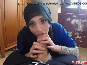 Arab Wife Pimped by husband