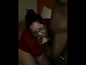 Watching his wife enjoy her first BBC
