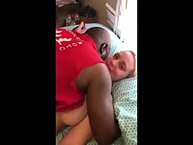 Chubby white wife seeded by Black lover