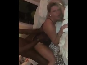 OMG White Wife Screams with BBC deep inside of her