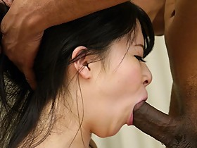 Japanese housewife, Satomi Nagase cuckolds her husband quite